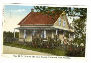 The Birth Place of the five sister, Callander, Ontario, Canada, PU-00-10s