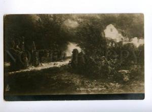 167435 Way of DEATH on HORSE by BOCKLIN vintage PC