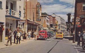 Royal Street , Ste. Anne de Beaupre , Quebec , Canada, PU-1956