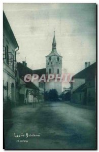 Postcard Old Lazme Bohdanec za Vecera