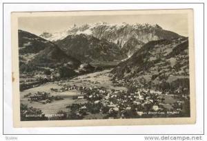 RP  Schruns Montafon, Austria, PU 1937