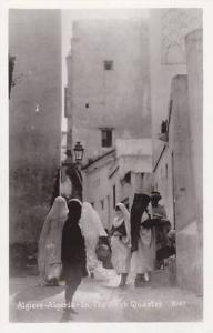 RP; Algiers , Algeria , 20-30s : The Arab Quarter
