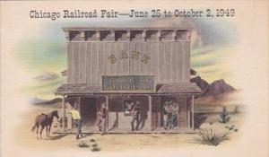 Illinois Chicago Railroad Fair June 25 To October 2 1949