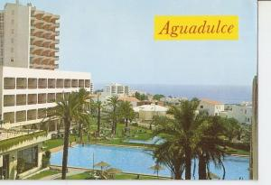 Postal 050015 : Aguadulce (Almeria). Vista panoramica y Hotel Satelite Park