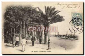 Algeria Algiers Old Postcard The Square Bresson