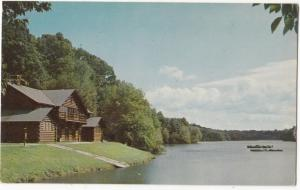 A View of Porter Lake in Forest Park, Springfield, Mass, unused Postcard