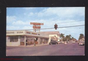 HOMESTEAD FLORIDA DOWNTOWN STREET SCENE SODA FOUNTAIN