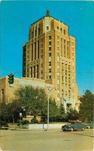 Beaumont Texas Jefferson County Court House Dexter Vaxler Postcard 21-5876