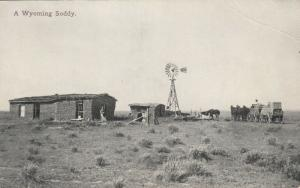Soddy (Sod House) , Wyoming , 00-10s