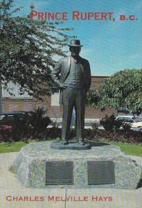 Canada British Columbia Prince Rupert Charles Melville Hays Statue