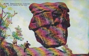 Colorado Balanced Rock In Garden Of The Gods