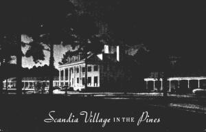 North Carolina Neuse Scandia Village In The Pines 1956