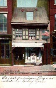 Pennsylvania Philadelphia Betsy Ross House 1908