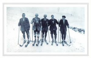 Nostalgia Postcard 1912 Snow At Buxton, Derbyshire Dales Reproduction Card NS47