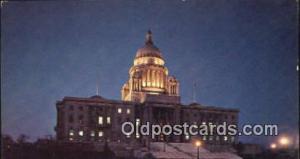 Providence, Rhode Island, RI State Capital, Capitals Postcard Post Card USA  ...
