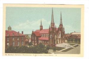 St. Dunstan's Cathedral, Charlottetown, Prince Edward Island, Canada, 30-50s