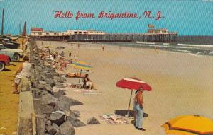 New Jersey Brigantine Hello From Brigantine 1970