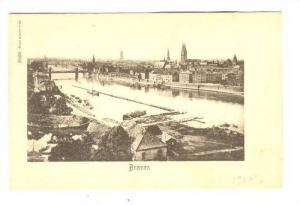 Bremen, Aerial View, Bridge and River, Germany, 00-10s