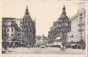 Belgium, Anvers, Antwerpen , Antwerp, Entree de la rue Leys, unused Postcard