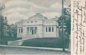 Curtis Memorial Library Meriden Connecticut 1906