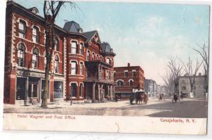 Canajoharie NY - Hotel Wagner & Post Office