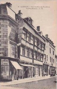 France Lannion Rue Geoffrey de Pontblanc Vieilles Maisons
