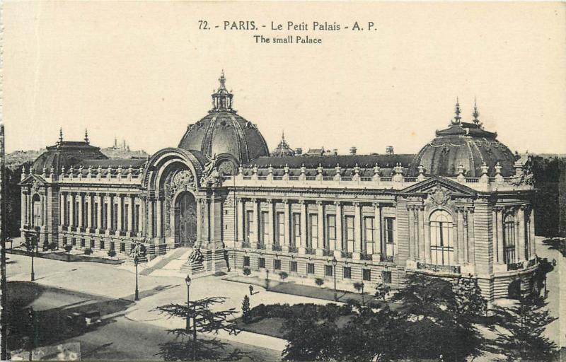 CPA France Paris small Palace