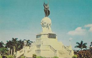 General view of the Balboa Monument, Panama City,R.P., 40-60s
