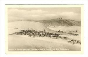 RP  Kurort u. Wintersportplatz Oberwiesebthal i. Erzgeb. mit dem Fichtelberg ...