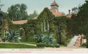 Chemistry Building University Of California Berkeley CA UC Berkeley Postcard D25