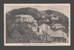 087573 INDIA General view Mussoorie taken from Savoy Hotel Old