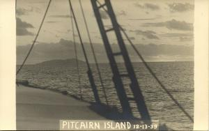 Pitcairn Islands, Byrd Antarctic Expedition III (1939) RPPC (2)