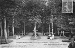 France Sermaize-les-Bains Etablissement Thermal Entree du Parc 1908