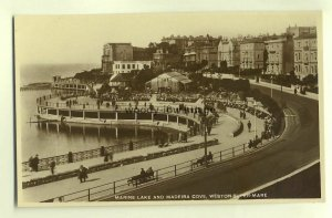 tp4463 - Somerset - Marine Lake & Madeira Cove at Weston-Super-Mare - Postcard
