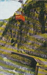 Canada British Columbia Hell's Gate Airtram Fraser Canyon