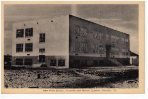 New High School , Noranda & Routn , Quebec , Canada , 30-40s