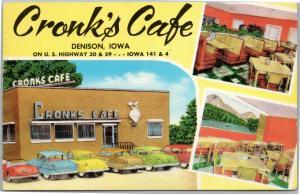 Cronk's Café Denison Iowa