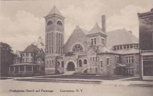 New York Gouverneur Presbyterian Church & Parsonage