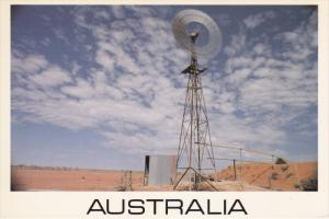 AUSTRALIA, 1950-1970's; The Southern Cross, Windmills Pumping Water
