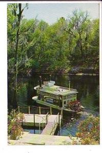 Swwanee River Boat, Dock at Stephen Foster Museum, White Springs, Florida