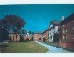 Unused Pre-1980 QUADRANGLE AT BROWN UNIVERSITY Providence Rhode Island RI L70...
