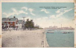 Indiana Indiana Harbor Lake Michigan Front And Cottages