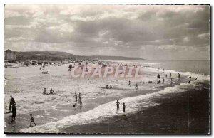 Modern Postcard Trouville Beach to Deauville