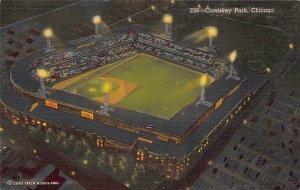 Comiskey Park, Chicago, Illinois, USA Baseball, Base Ball Stadium Unused