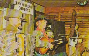 Ted Hustead's Badlands Cowboys At Ted's Store Wall South Dakota