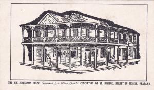 The Joe Jefferson House , MOBILE , Alabama , 30-40s