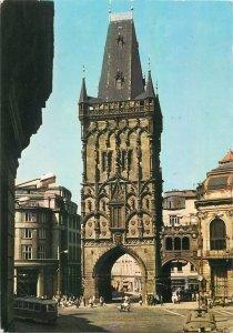 Czech Republic Prague Powder Tower after 1475 Postcard
