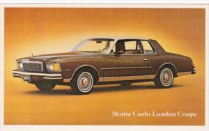 1979 Chevrolet Monte Carlo Landau Coupe