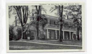 Woodlawn, The Black House,Ellsworth, Maine 00-10