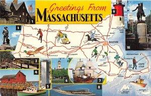 Greetings from - Massachusetts MA